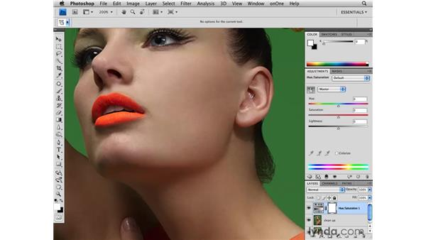 Correcting color and tone: Photoshop CS4 Retouching: Fashion Photography Projects