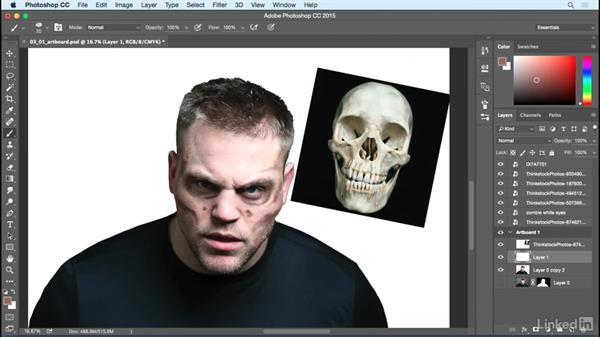 Painting anatomy: Photoshop: Turn Yourself into a Zombie