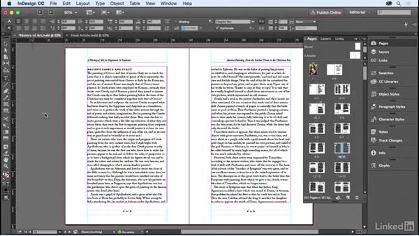 Welcome: InDesign for Editors