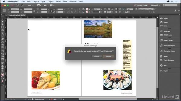 Recovering from mistakes: InDesign for Editors
