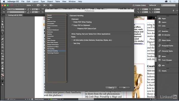 Basic text editing: InDesign for Editors