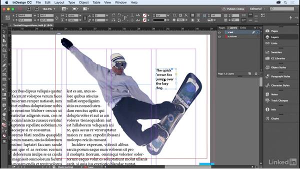 Common problems when editing text: InDesign for Editors