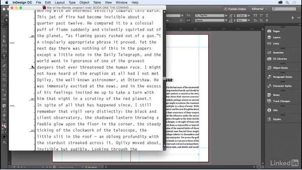 The Story Editor: InDesign for Editors