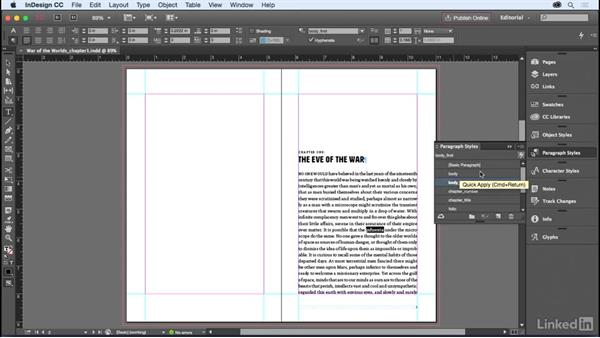 Spell-checking and Dynamic Spelling: InDesign for Editors