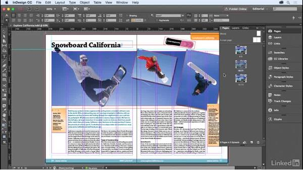 Text frames: InDesign for Editors