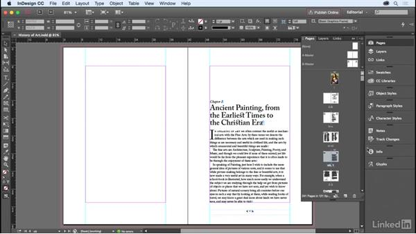 Master pages: InDesign for Editors