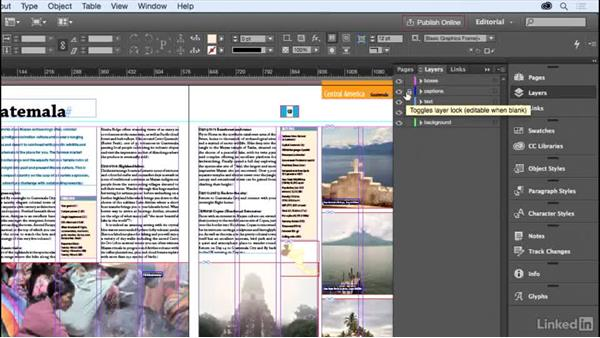 Layers: InDesign for Editors