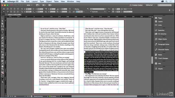 Fixing widows and orphans: InDesign for Editors