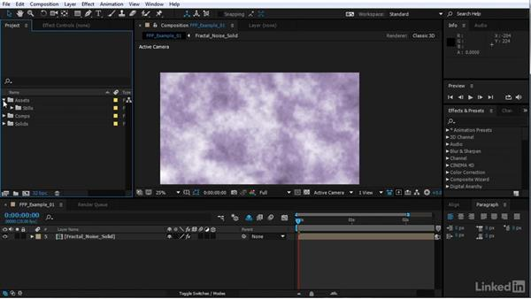 Using the exercise files: After Effects Motion Graphics: Creating Fire and Brimstone Type Animation