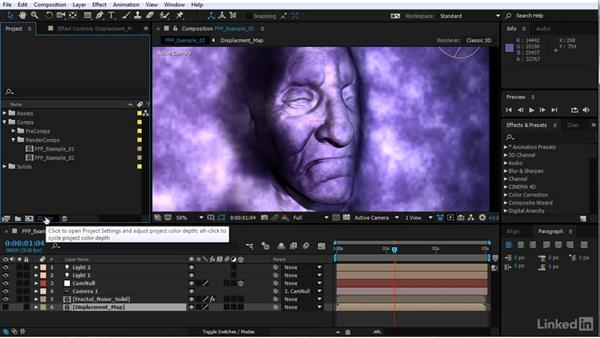 8, 16, or 32 bits: After Effects Motion Graphics: Creating Fire and Brimstone Type Animation