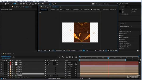 Use FreeForm Pro to fill in the blank gaps: After Effects Motion Graphics: Creating Fire and Brimstone Type Animation