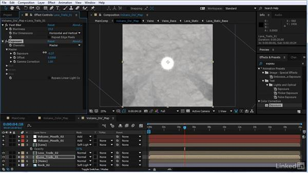 Final tweaks: After Effects Motion Graphics: Creating Fire and Brimstone Type Animation
