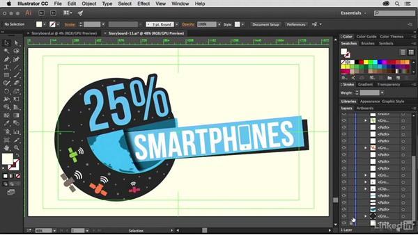 Splitting a multi-artboard Illustrator document for animation