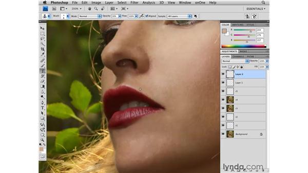 Evening tone: Photoshop CS4 Retouching: Fashion Photography Projects