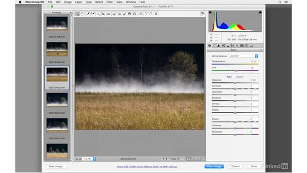 Working with raw files in Lightroom, Camera Raw, and Photoshop: Learn Photography: Shooting in Raw Mode