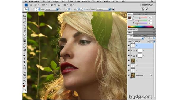 Improving details: Photoshop CS4 Retouching: Fashion Photography Projects