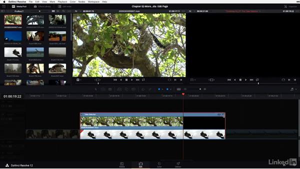 Using the Take Selector: DaVinci Resolve 12 Advanced Color Grading