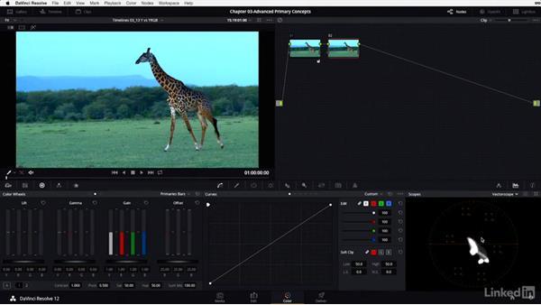 Y-only vs. YRGB adjustments: DaVinci Resolve 12 Advanced Color Grading