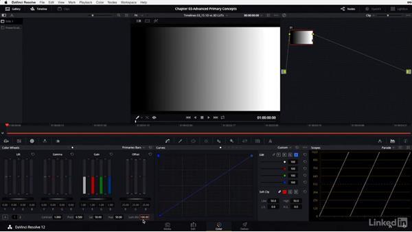 Colorist lingo: What are 1D and 3D LUTs?: DaVinci Resolve 12 Advanced Color Grading