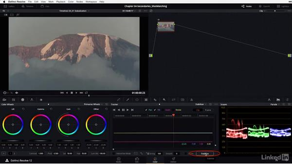 Tracker: Stabilization: DaVinci Resolve 12 Advanced Color Grading
