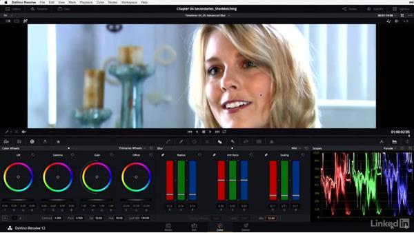 Blur: Mist controls: DaVinci Resolve 12 Advanced Color Grading