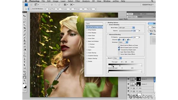 Enhancing color: Photoshop CS4 Retouching: Fashion Photography Projects