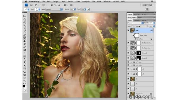 Adding light: Photoshop CS4 Retouching: Fashion Photography Projects
