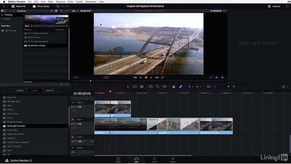 User cache vs. Smart cache: DaVinci Resolve 12 Advanced Color Grading