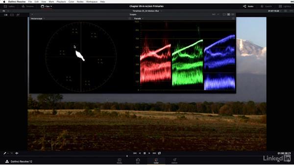The base grade: Grading at full speed: DaVinci Resolve 12 Advanced Color Grading