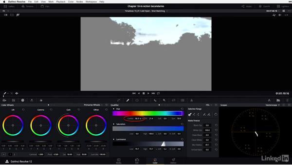 Shot matching: Hut, part 2: DaVinci Resolve 12 Advanced Color Grading