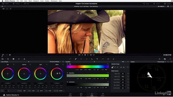 Shot matching: Hut, part 3: DaVinci Resolve 12 Advanced Color Grading