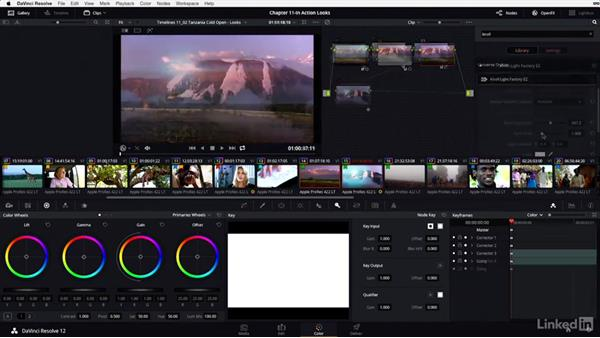 "Understanding the importance of the ""singularity effect"": DaVinci Resolve 12 Advanced Color Grading"