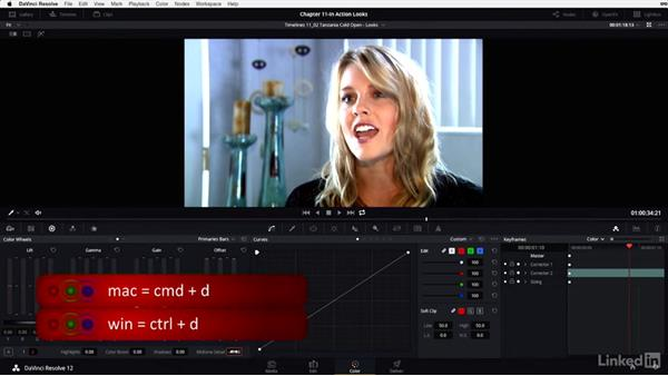 Cold open: Enhancing interviews: DaVinci Resolve 12 Advanced Color Grading