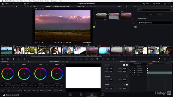 Cold open: Stylizing with plugins: DaVinci Resolve 12 Advanced Color Grading