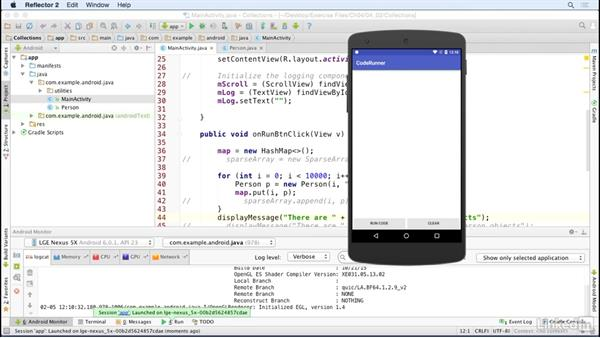 Store data in memory with collections: Java Design Patterns and APIs for Android