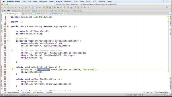 Parse Xml Formatted Data