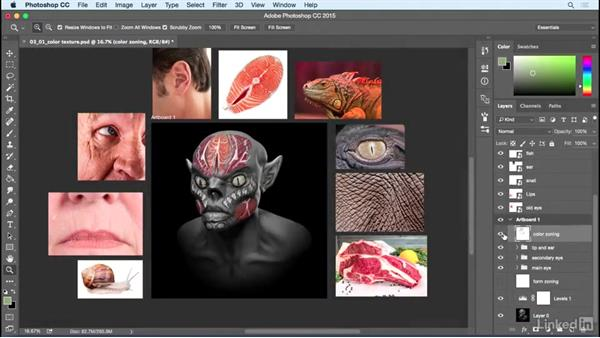 Welcome: Photoshop: Create a Goblin Using Textures and Compositing