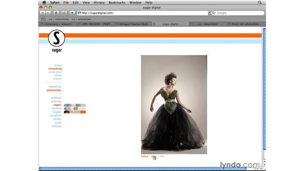 Additional resources: Photoshop CS4 Retouching: Fashion Photography Projects