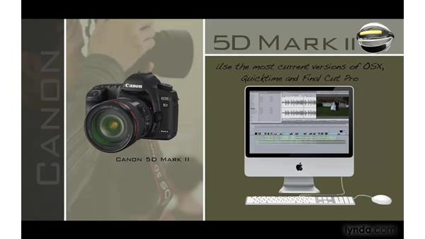 Introduction: Photography Video Workflow: Final Cut Pro + Canon 5D Mark II