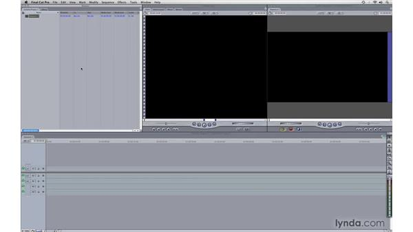 Project setup: Photography Video Workflow: Final Cut Pro + Canon 5D Mark II