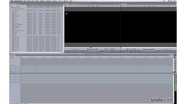 Assembling clips: Photography Video Workflow: Final Cut Pro + Canon 5D Mark II