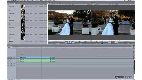 Auto Sequence setup: Photography Video Workflow: Final Cut Pro + Canon 5D Mark II
