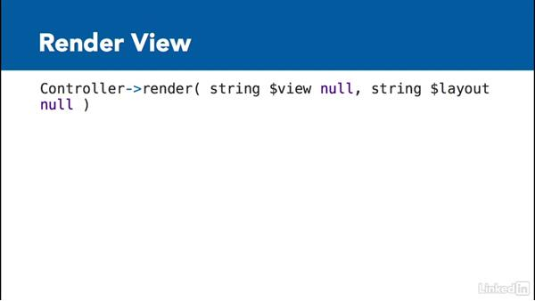 Working with views: Learn CakePHP 3: The Basics