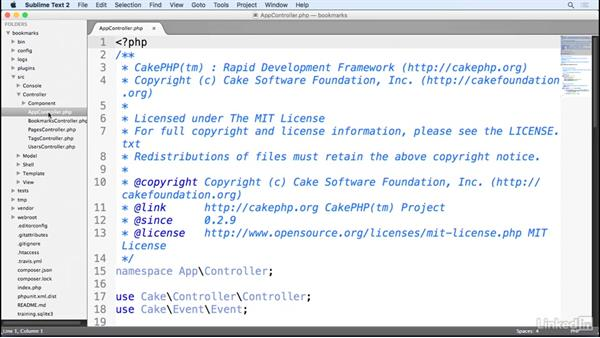 Standard CakePHP components: Learn CakePHP 3: The Basics