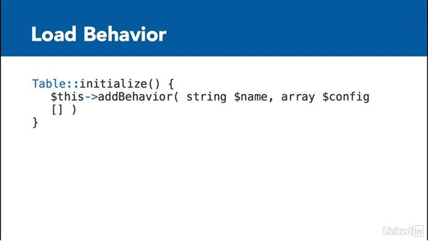 Introduction to CakePHP Behaviors: Learn CakePHP 3: The Basics