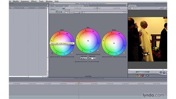Color correction: Photography Video Workflow: Final Cut Pro + Canon 5D Mark II