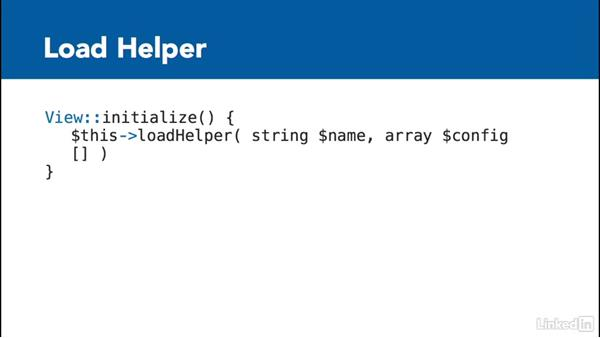 Introduction to CakePHP helpers: Learn CakePHP 3: The Basics