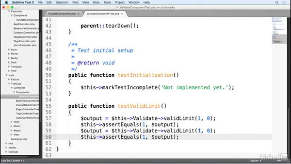 Testing a CakePHP component: Learn CakePHP 3: The Basics