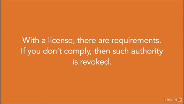 What is a license?: Foundations of Programming: Open-Source Licensing