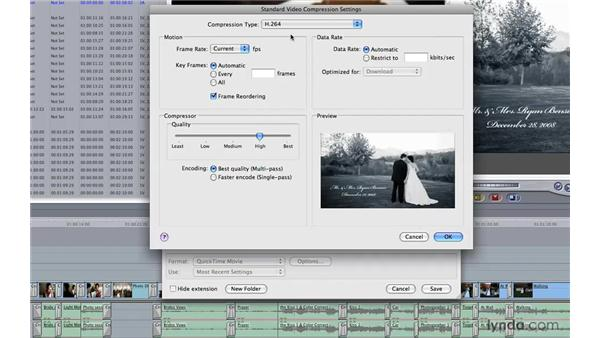 Finishing and exporting your movie: Photography Video Workflow: Final Cut Pro + Canon 5D Mark II